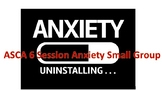 Anxiety 6 Session Small Group ASCA Lessons and Worksheets