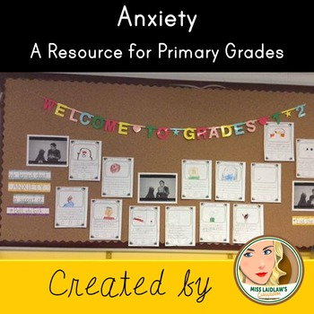 Anxiety: A Resource for Primary Grades