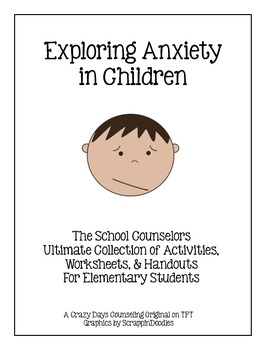 Agent Pensby Anxiety Worksheet for Kids | Counsellor Toolkit
