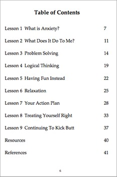 Anxiety Program with Complete Facilitator's Guide