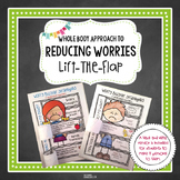 #counselorsback4school Anxiety Reducing Lift-the-Flap Activity