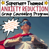 Anxiety Reduction Group Counseling Bundle