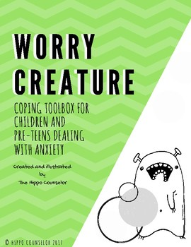 Anxiety Tool Kit - Worry Creatures