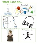 Anxiety - Visuals for in-School Calming / Coping Strategies.