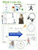 Anxiety - Visuals for in-School Coping Strategies - RESIZED SMALL VERSION