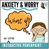 Anxiety & Worry Tools – Interactive PowerPoints + Posters!