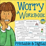 Anxiety and Worry Workbook - Distance Learning and Google