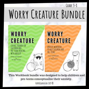 Anxiety bundle - Worry Creature