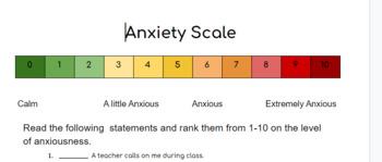Anxiety survey