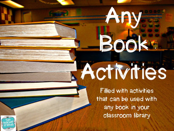 Any Book Activities
