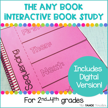 Any (Chapter) Book Interactive Book Study Bundle