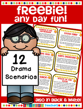 Any Day Fun PREVIEW - 12 Drama Scenarios FREEBIE!!
