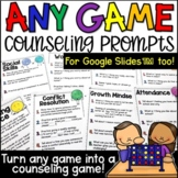Any Game Counseling Prompts for 20 Different Topics