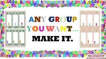 Any Group You Want..Make It.