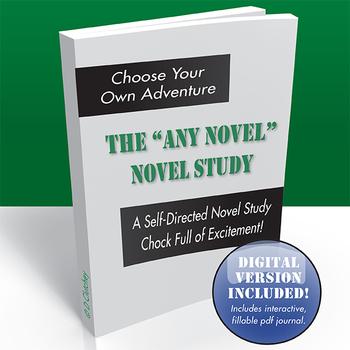 Any-Novel Novel Study for High School English *Digital Bon