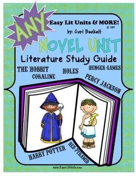 Any Novel Unit Guide (Common Core Aligned)