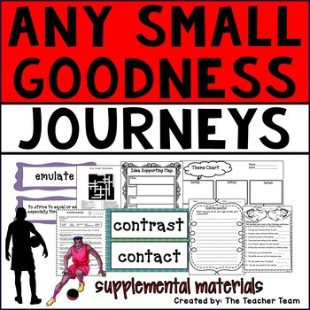 Any Small Goodness Journeys 6th Grade Unit 3 Lesson 14 Activities & Printables