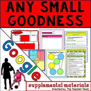 Any Small Goodness Journeys 6th Grade Unit 3 Google Drive Resource