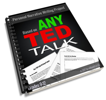 Any TED Talk Narrative Writing Project