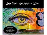 Any Text Graffiti Wall Project