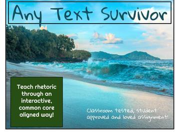 Any Text Survivor Activity