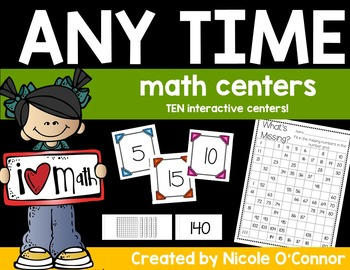 Any Time Math Centers