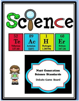 Any Topic Common Core/ NGSS Debate Game Borad