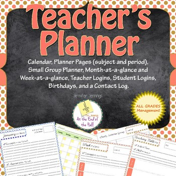 Any-Year, Any-Grade Teacher Planner