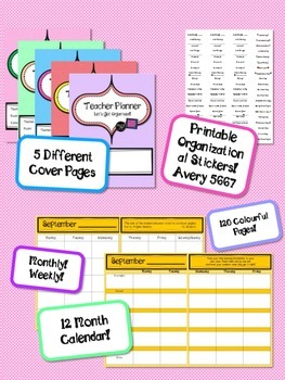 FREE Any Year Teacher Planner *Get Organized!!*