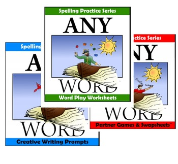 AnyWord Spelling Practice Bundle