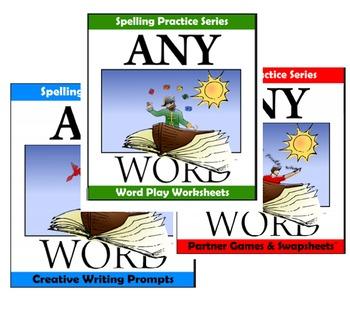 AnyWord Spelling Practice Bundle