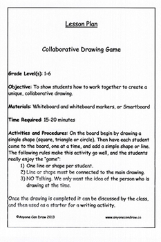 Anyone Can Draw Collaborative Drawing Game
