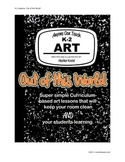"""Anyone Can Teach Art!  Complete K-2 Art Lesson/project """"Ou"""