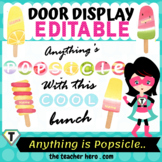 Anything is Popsicle... Door Display