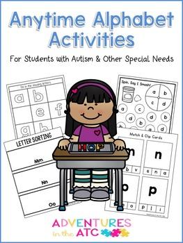 Anytime Alphabet Activities!