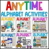 Anytime Alphabet Activities