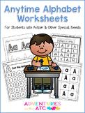 Anytime Alphabet Worksheets