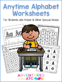 Anytime Alphabet Worksheets