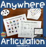 Anywhere Articulation: Speech Therapy (BOOM Cards included)