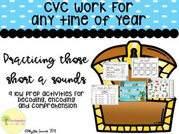 Anytime CVC Centers: Short A