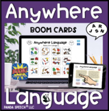 Anywhere Language BOOM Cards Set: Digital Speech Therapy Cards
