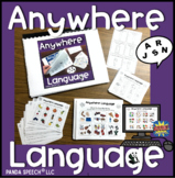 Anywhere Language: Speech Therapy + BOOM Cards