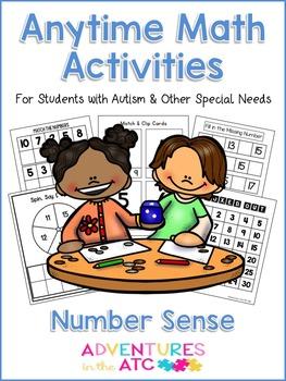 Anytime Math Activities - Number Sense