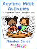 Anytime Math Activities - Number Sense
