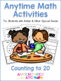 Anytime Math Activities - Counting to 20