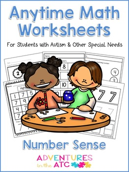 Anytime Math Worksheets - Number Sense