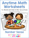 Anytime Math Worksheets - Number Sense