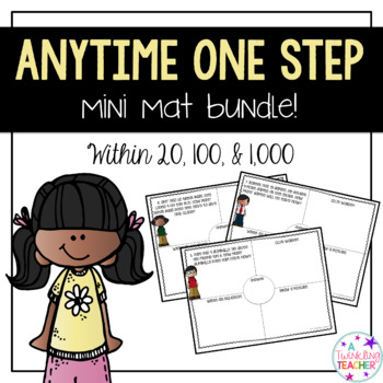 Anytime Mini Bundle: One Step Word Problems