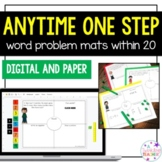Anytime One Step Word Problems within 20!