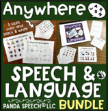 Anywhere Speech and Language BUNDLE (BOOM Cards included)